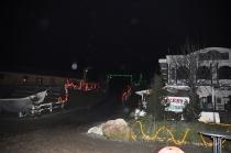 Besuch des Weihnachsmarktes in Pullman-City