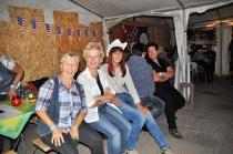 LDP-Party auf dem Sportplatz Walschleben